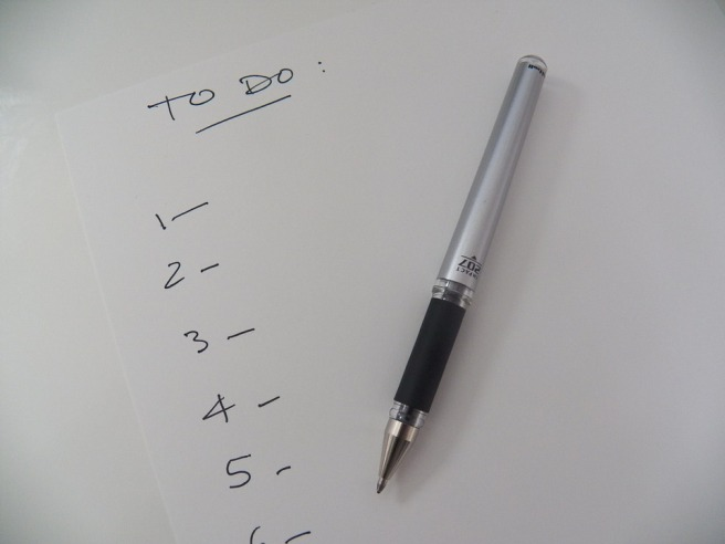 To Do list pixabay